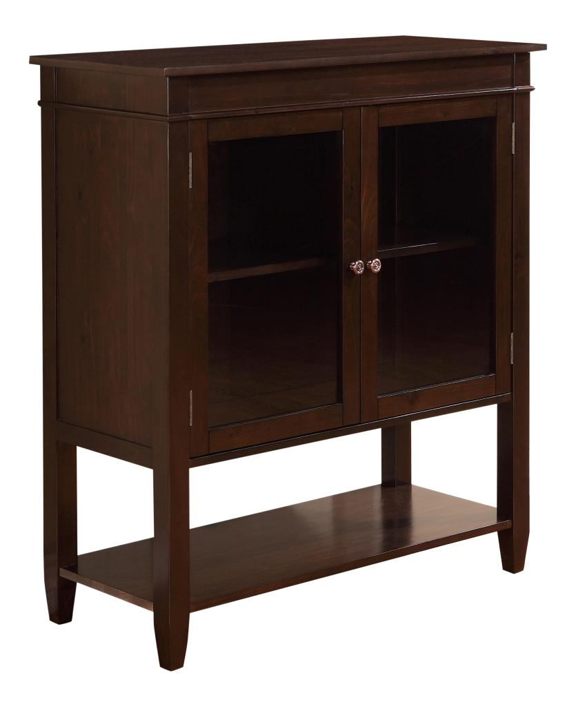 Amazon.com: Simpli Home Carlton Medium Storage Cabinet
