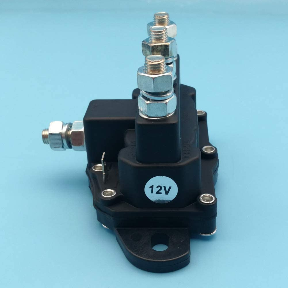 Tuzliufi Replace Starter Solenoid Relay Cole Hersee 24450 24450BX Trombetta 214-1211A11 214-1211A11-06 214-1211A51 214-1211A61 214-1231A11 Hydraulic Pump Snow Plow Spreader Winch Windlasses New Z351