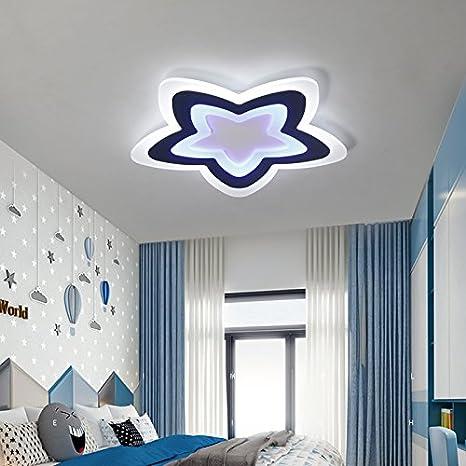 Renshengyizhan@ AC85~260V Star lampara de techo Modern Kids ...
