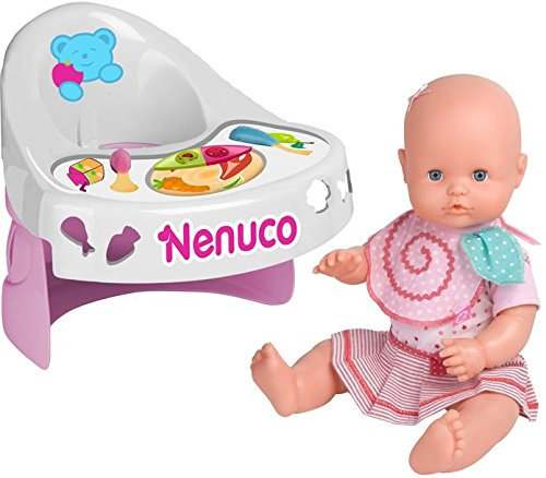Famosa 700012387 - Nenuco Nenuco Nenuco Ißt mit Mir inklusive Hochstuhl, 42 cm, bunt ba773f