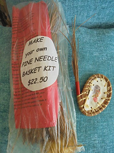 Pine Needle Holly Hobby on Oyster Shell PINE NEEDLE BASKET WEAVING KIT (Needle Basket Pine Kits)