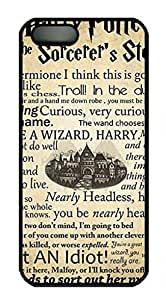 2015 popular iCustomonline Case for iPhone 5S PC White, harry potter quotes Ultimate Protection Case for iPhone 5S PC White