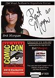 Brit Morgan Autograph Card - Debbie Pelt on True Blood