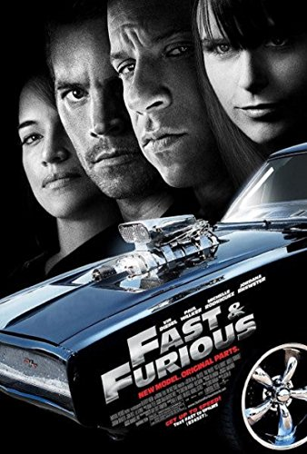 Fast & Furious 2009 S/S Movie Poster 11x17