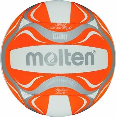 Molten – Balón de voleibol de playa – 5, blanco/naranja/plata por ...