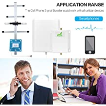ATT 4G Lte Cell Signal Booster Mingcoll 700MHz Band 12/17 FDD LTE Cell Phone Signal Repeater Booster With Outdoor Yagi Antenna and Indoor Panel Antenna for Home and Office (ATT 4G LTE)