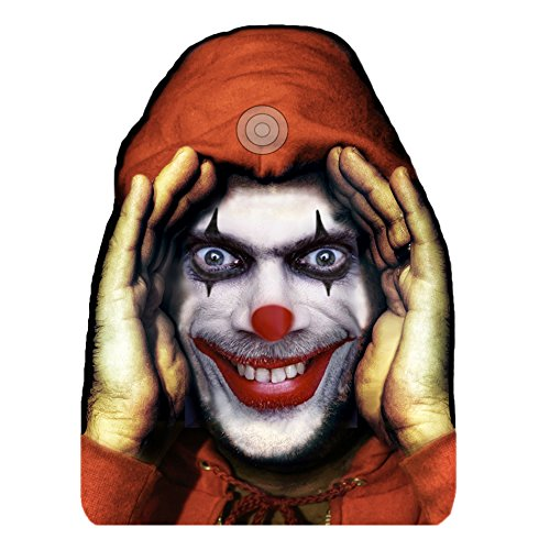 Forum Novelties, Scary Peeper Cling Halloween Décor: Clown