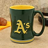 Boelter Boxed Relief Sculpted Mug - Oakland Athletics