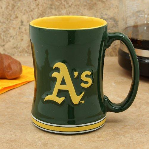 Boelter Boxed Relief Sculpted Mug - Oakland Athletics (Oakland Gift Athletics)