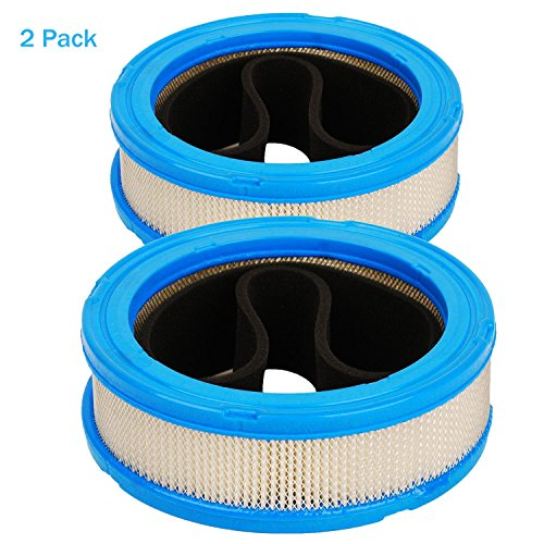 HIFROM Air Filter Cartridge Pre-Cleaner/Pre Filter Replace for Briggs & Stratton 394018 392642 394018S 5050H 5050B 4135 421400 402400 Vanguard V-Twin 12.5-20hp (Pack of 2)