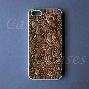 Iphone 5c Case - Carved Wood Design Iphone 5c Cover