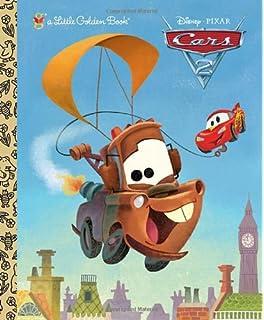cars 2 little golden book disneypixar cars 2 - Disney Cars Books