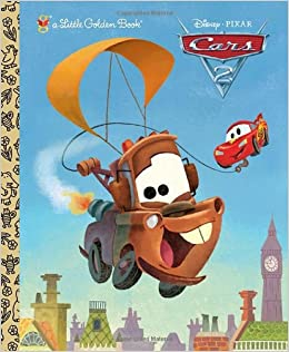 Cars Little Golden Book DisneyPixar Cars RH Disney - Cars 2 cool cars book