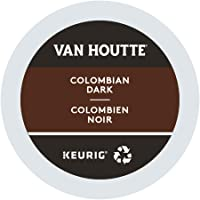 Van Houtte Colombian Dark Single Serve Keurig Certified Recyclable K-Cup pods for Keurig brewers, 30 Count
