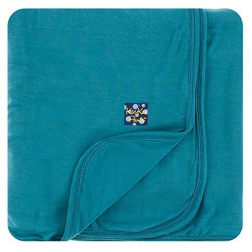 - Kickee Pants Solid Stroller Blanket in Seagrass