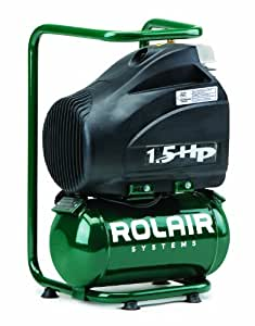 Rolair FC1500HBP2 1.5 HP Compressor with Overload Protection and Manual Reset