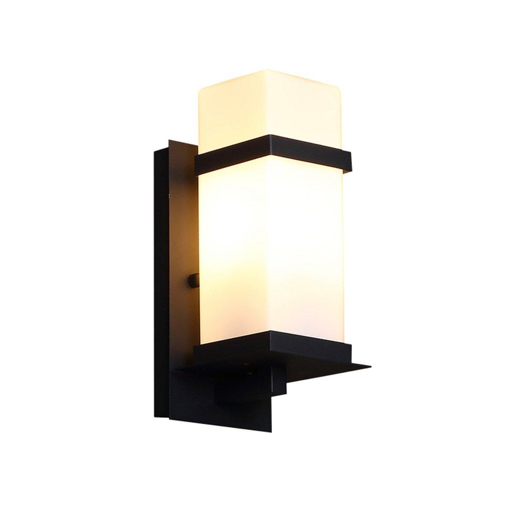 屋外の壁ライト/アイアンアートの外壁ランプ/ガーデンライト/レトロホテルの階段の壁ライト/ E27光源 ( サイズ さいず : 小さな ちいさな ) B077T5Y122 15144 小さな ちいさな  小さな ちいさな