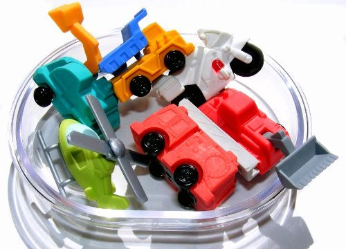 Iwako Japanese Erasers In A Mini Bento Box - Big (Japanese Mini Trucks)