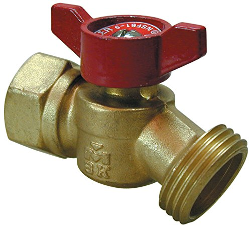 B and K Industries 102-454HN 3/4-Inch FIP Quarter Turn No Kink Hose Bibb (Kink Hose Valve)