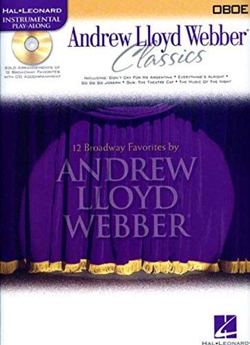 Andrew Lloyd Webber Classics - Oboe: Oboe Play-Along Book/CD Pack (Hal Leonard Instrumental Play-Along)