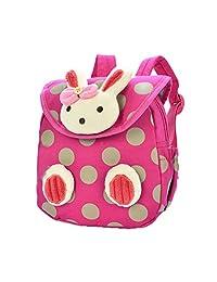 Donalworld Kid Cartoon Rabbit Backpack Shoulder Bag