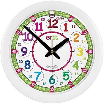 Amazon Com Easyread Time Teacher Children S Wall Clock