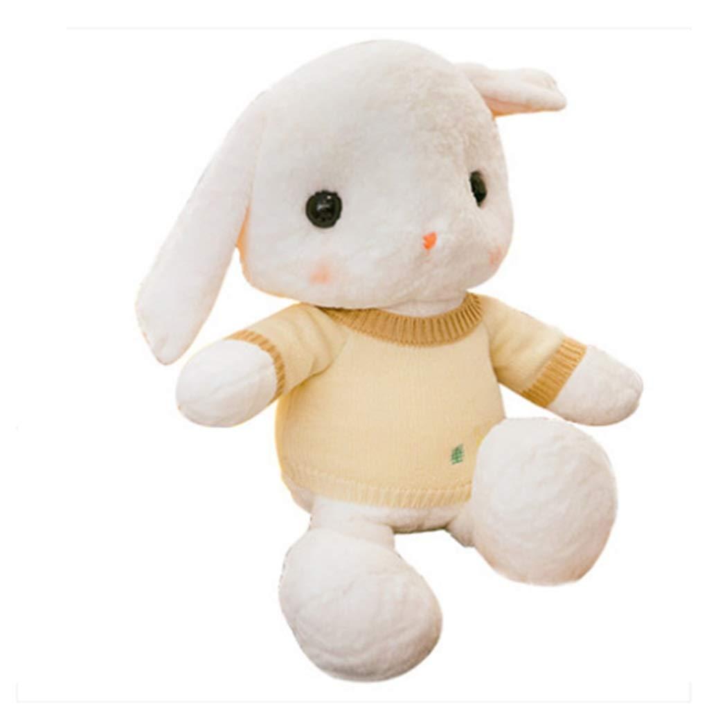 A 50cm Poupée mignonne dormir oreiller fille lapin en peluche poupée (Couleur   B, Taille   105cm)