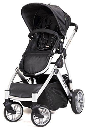 Muv Baby Trend Reis Stroller, Artic Silver/Mystic Black