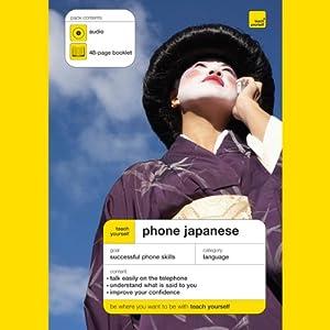 Teach Yourself Phone Japanese Speech