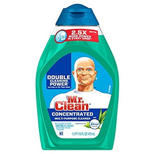 2 Pk. Mr. Clean Liquid Muscle Multi-Purpose Cleaner with Febreze Meadows & Rain (16oz)