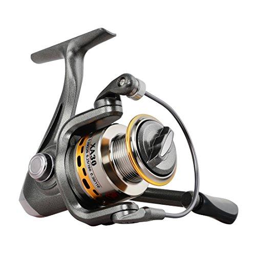 FISHINGSIR Spinning Fishing Reel Metal Spool 7+1BB for Freshwater Saltwater 3000 Series