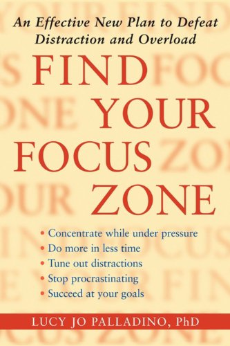 Find Your Focus Zone Distraction ebook product image