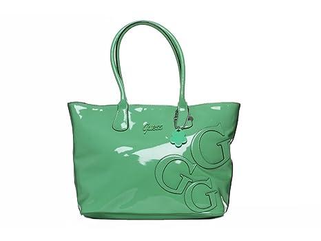 borsa Valigeria Amazon GUESS Shopper it vernice tracolla Maisy a 7WF6H