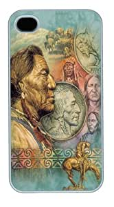 Five Cent Peace Native American Custom For Apple Iphone 5C Case Cover Polycarbonate White