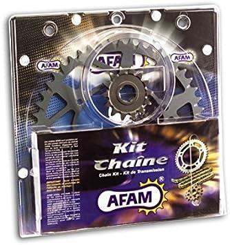 AFAM Kettensatz X-Ring verst/ärkt f/ür Kreidler Enduro 125 DD Bj BSD 2011 QM125GY-2B