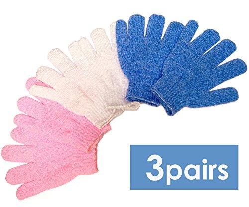 Bath Blossom Exfoliating Shower Gloves
