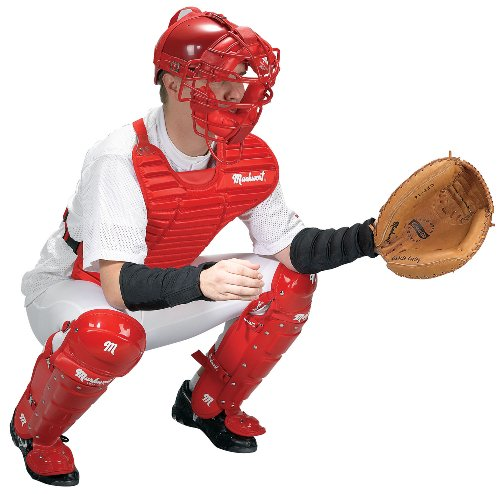 Markwort CATCH-TEK Catcher8217;s Protective Inner Forearm Sleeves, Black, Youth Medium (Protective Forearm Sleeve)