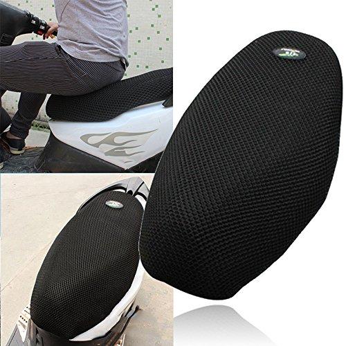 Lumensy Wasserdichte Atmungsaktive 3D-Netz Sitzbezug Sitzmatte für Motorrad Moped