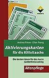 Aktivierungskarten für die Kitteltasche 1: Die besten Ideen für das kurze Gedächtnistraining (Altenpflege)