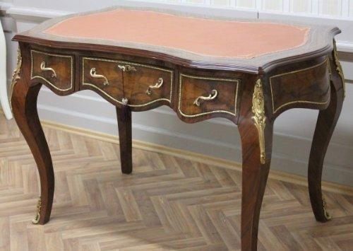 LouisXV escritorio barroco antiguo estilo de tabla 130x75 Oficina ...