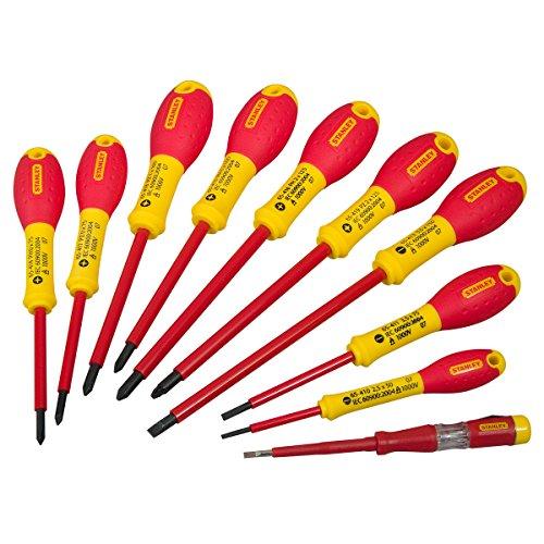 Stanley 562573 FatMax Screwdriver Set Insulated Par / Flared