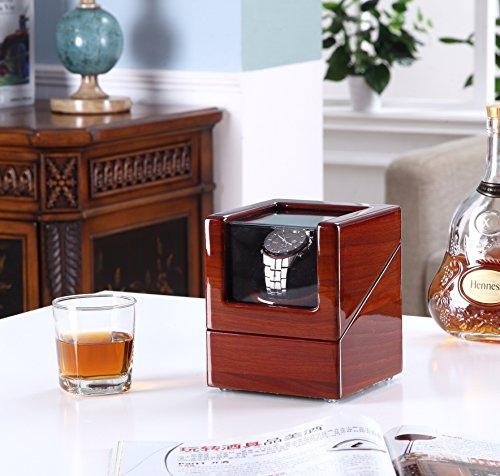 사랑의 둥지(집)[Winding Machine] 시계 와인딩 머신 손목시계 시계 워치와인더 케이스 (상胶나무+# 색베개头)