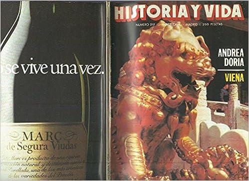 Historia y Vida numero 217: la masoneria española: Amazon.es: Varios: Libros