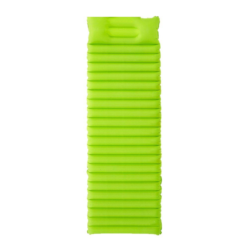 Im Freien Automatische Aufblasbare Einzelne Schlafenauflage-leichtes Tragbares Bergsteigen-Feuchtigkeits-Auflage-Isolierungs-Auflagen-kampierendes Zelt-aufblasbare Matratze,Grün
