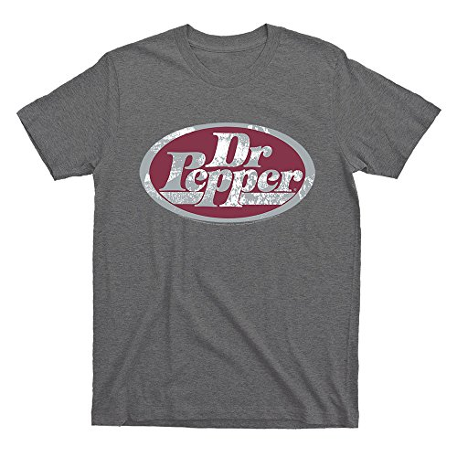 Dr. Pepper Logo Licensed T-Shirt | Poly Cotton Blend | Classic Look