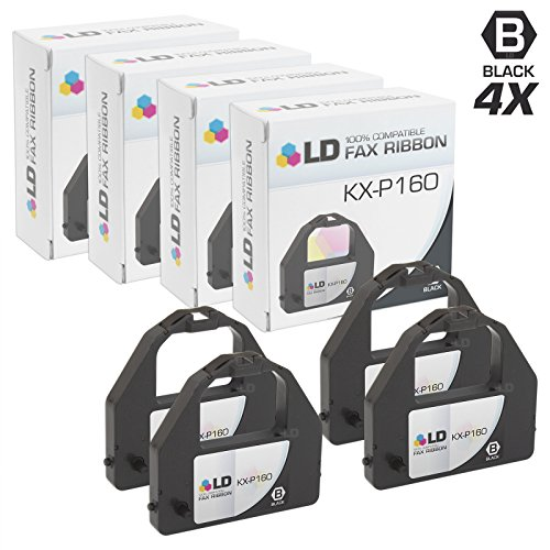 - LD Compatible Printer Ribbon Cartridge Replacement for Panasonic KX-P160 (Black, 4-Pack)