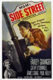 SIDE STREET film noir movie poster