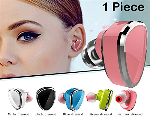 - Sound Force Single Earbud Wireless Bluetooth 4.1 For Women Men. LQQK And Feel Amazing. Works On Apple Android Cell Phone - Mic For Hands Free Calling- 5 incredible Colors And USB Bracelet Charger
