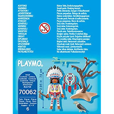 Playmobil Native American Chief 70062: Toys & Games