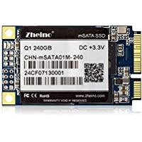 Zheino Q1 Msata 240GB SSD (2D MLC) Solid State Drive for Mini Pc Tablet Pc